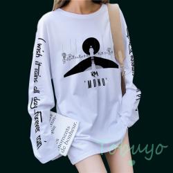 RM 'MONO' BTS Памучна Блуза