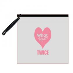 прозрачна папка TWICE  GOT7...