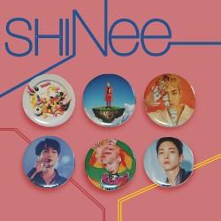 Значки SHINee (голям размер)