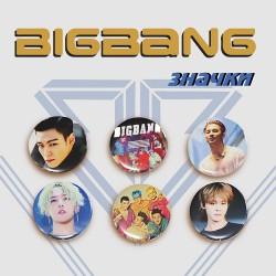 Значки BIGBANG (голям размер)