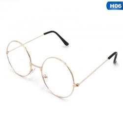 Ретро кръгли очила с...