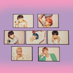 BTS Комплект 7 бр. картички...