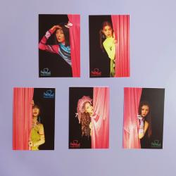 Kомплект 5 бр. картички RED...