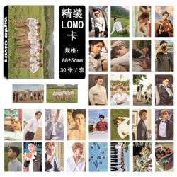 Комплект 30 бр. картички EXO