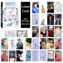 Комплект 30 бр. картички GOT7