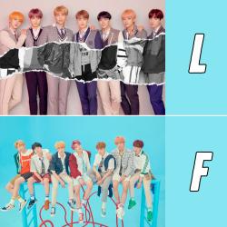 официален плакат BTS Love...