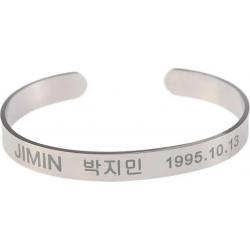 BTS метални гривни мембър...