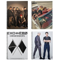 Тетрадка EXO, Obsession,...