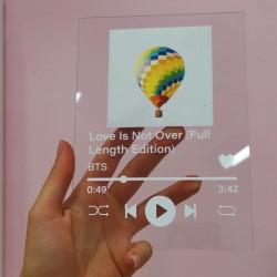 BTS Стъклен плейлист песен/...