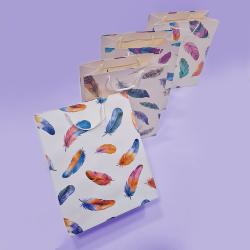 Подаръчна торбичка - цветни...