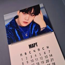 Календар 2021 СТЕНЕН BTS...