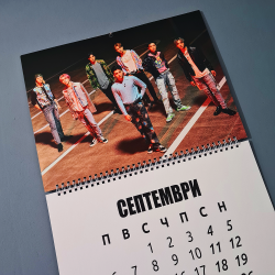 Календар 2021 СТЕНЕН NCT...
