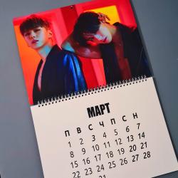 Календар 2021 СТЕНЕН MONSTA...