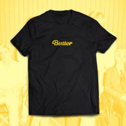 BTS BUTTER  памучна тениска...